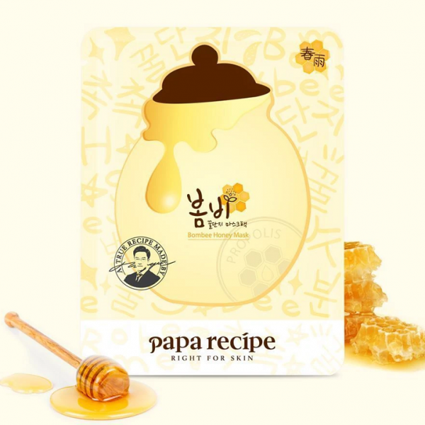 almaye-Papa-Recipe-Bombee-Honey-Mask-sheet